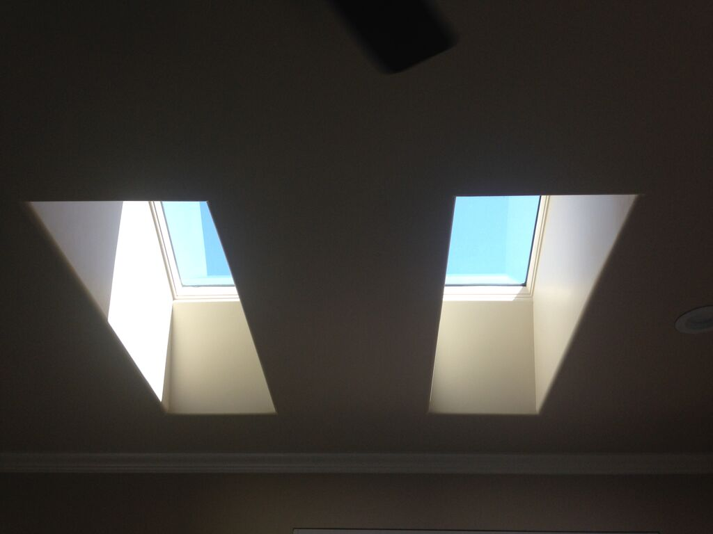 Completed skylights